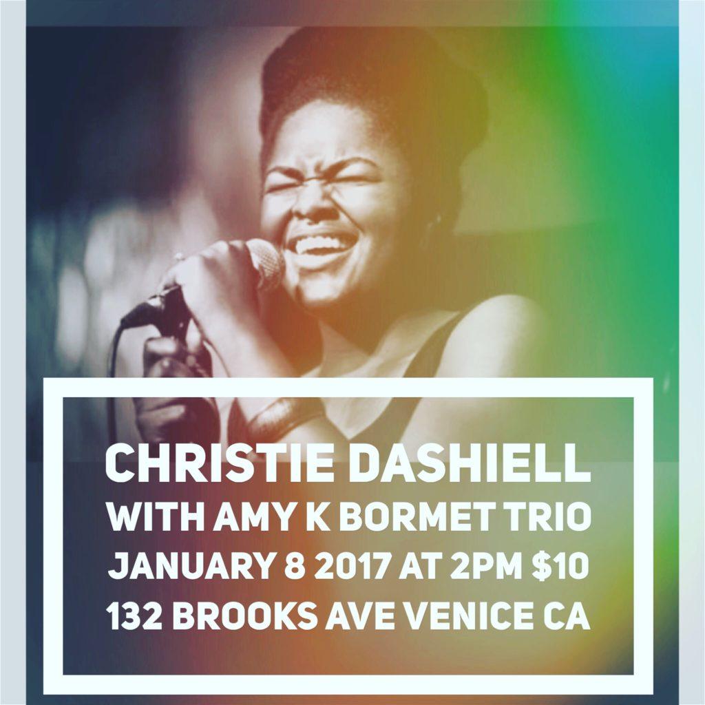 Christie Dashiell & Amy K Bormet Trio