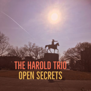 The Harold Trio's second album, Open Secrets, is a deeper dive into fluid spontaneous composition. AVAILABLE NOW!
